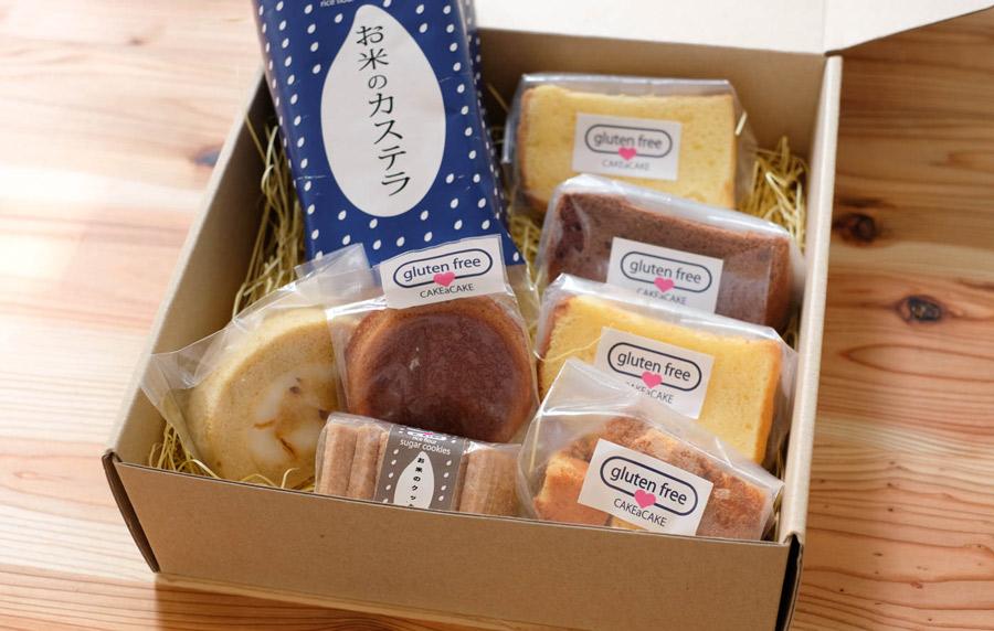 リベイク グルテンフリー定期便 米粉洋菓子店 Cakeacake